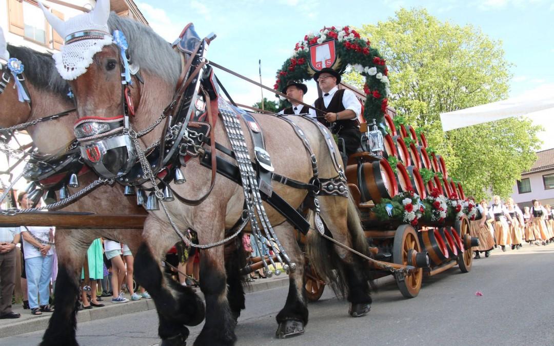 Am 12.07.2019 startet das Bruckmühler Volksfest